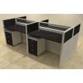82POA 4 person workstation