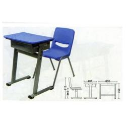 SE01+KZ07 Study Table Top + Chair Set